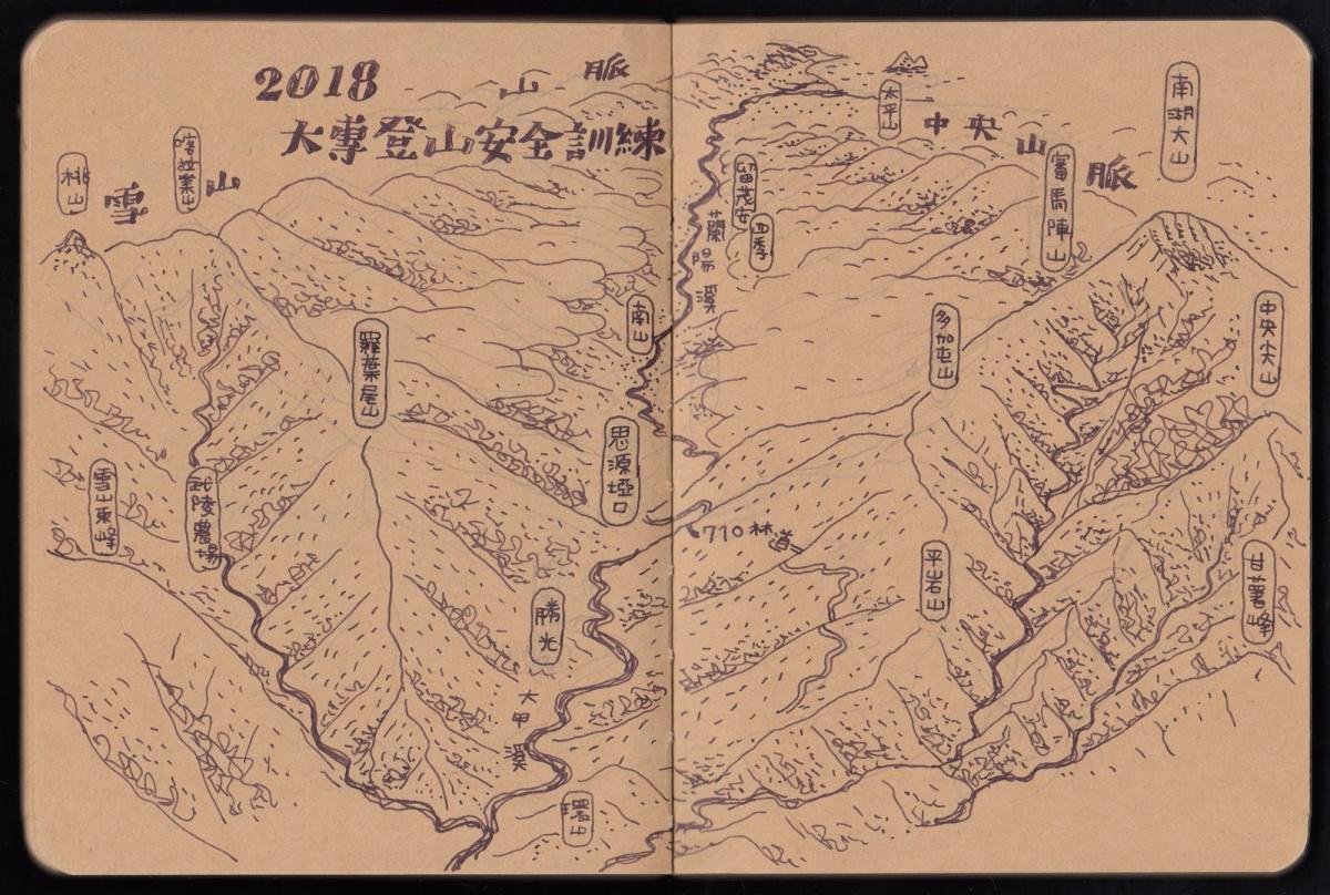 2018大專登山安全訓練